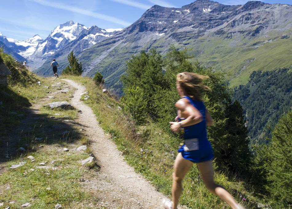 Join a running camp for the Sierre Zinal race